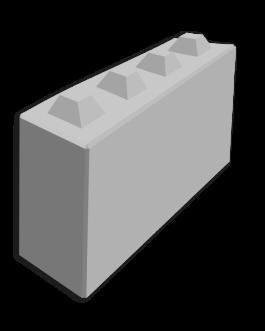 Megablok 160x40x80cm