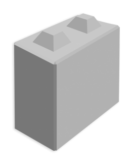Megablok 80x40x80cm