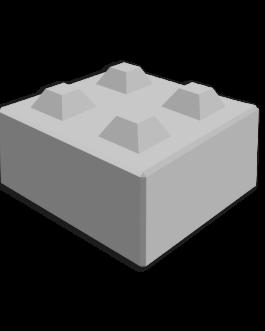 Megablok 80x80x40cm